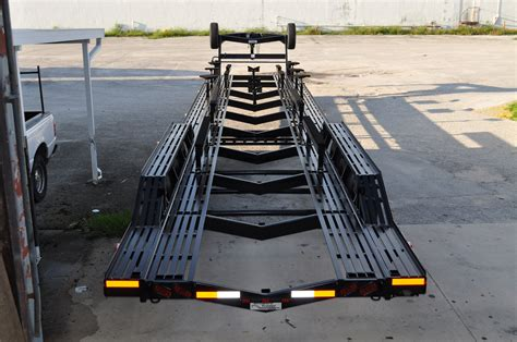 boat transport pictures broward trailer tabg53 transport trailer photo gallery