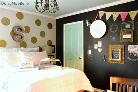 bedroom chalkboard wall charming home tour daisy mae belle town country living