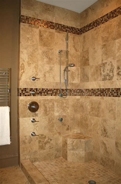 tiled bathroom ideas pictures open shower design inspiration with natural marble floor