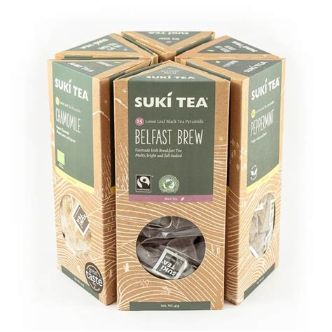 pyramidal photo gift set pyramid tea gift set suki tea leaf tea