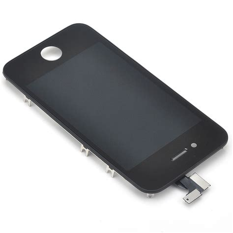 Lcd Apple Iphone 4s Touchscreen Black genuine apple iphone 4s lcd touchscreen digitizer display assembly black