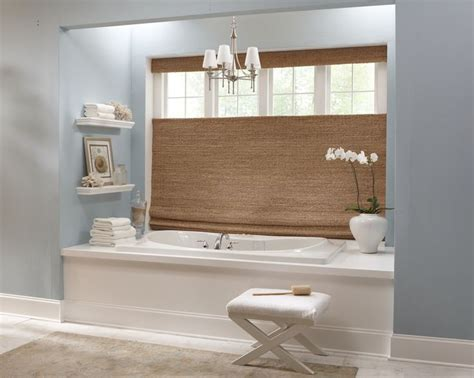 Clean Blinds In Bathtub by 17 Best Images About Bathroom Window Covering Ideas On