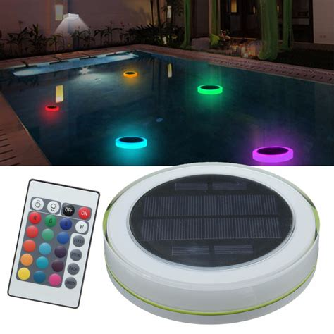 Underwater Solar Pond Lights Solar Power Rgb Underwater Led Garden Pond Swimming Pool