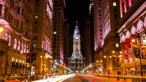 city hall light show philadelphia how light helped remake downtown philadelphia planetizen