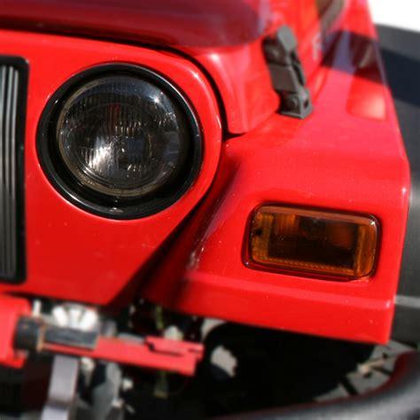 1997 Jeep Wrangler Headlights All Things Jeep Headlight Turn Signal Cover Set Jeep