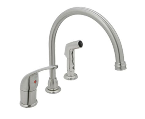high rise kitchen faucet optional high rise kitchen faucet pennwest homes