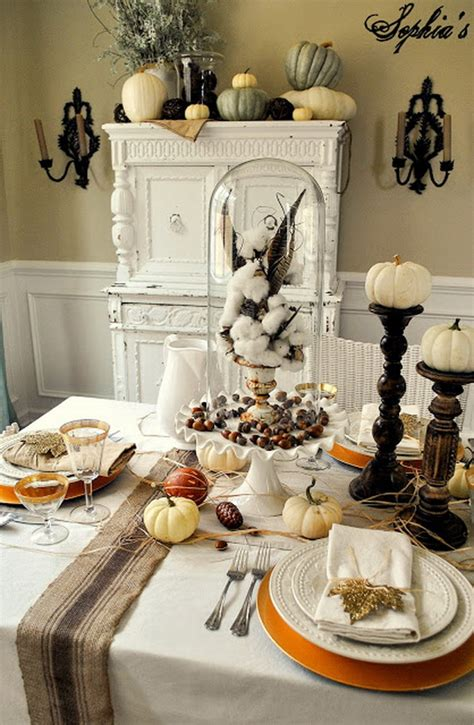 Thanksgiving Home Decor Ideas by Thanksgiving Home Decor Ideas Festive Atmosphere In Gold