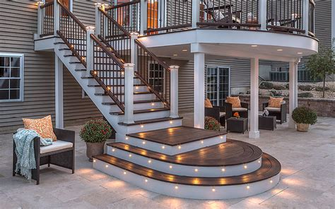 Outdoor Deck Post Lighting Deck Lighting Led Step Stair Lights Post Lights Trex Tutorial Tricks Of The Trade