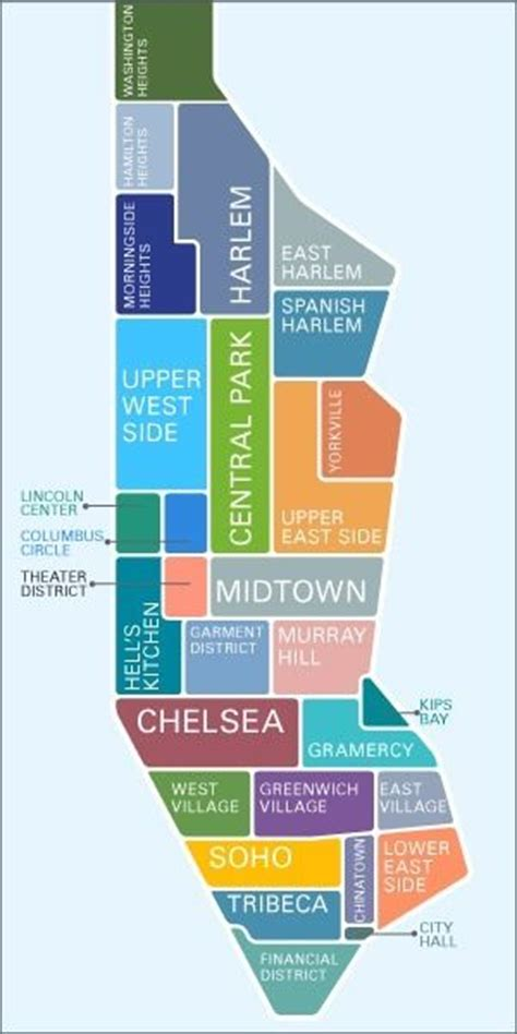 manhattan sections map pinterest the world s catalog of ideas