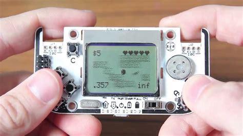 arduino console gamebuino an arduino console preview