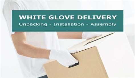 White Glove Furniture Delivery by Platinum Delivery Service