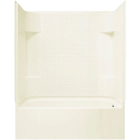 72 x 30 bathtub sterling accord 60 in x 30 in x 72 in bath and shower