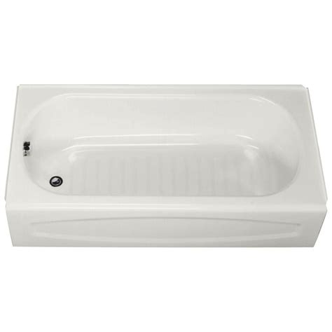 american standard bathtub american standard 5 ft left drain soaking bathtub in