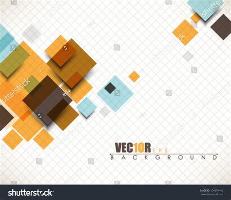 design is square eps10 vector multicolor abstract square design 104015486