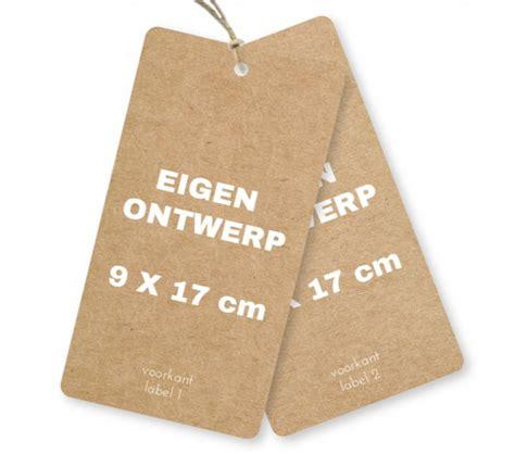 Etiketten Zelf Maken by Zelf Je Kraft Karton Look Labels Kaartje Ontwerpen