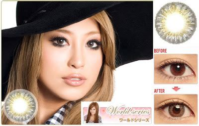 Softlens Geo 2 Tone Cm 721 3 tone contact lens cm 902 brown
