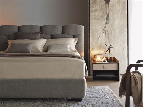 letto bed majal bed by flou design carlo colombo