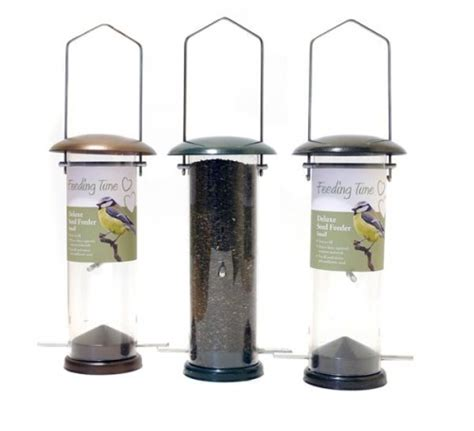 deluxe nyjer niger seed feeder garden feathers bird