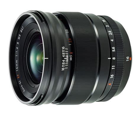 fujinon xf 16mm f 1 4 r wr announcement photography