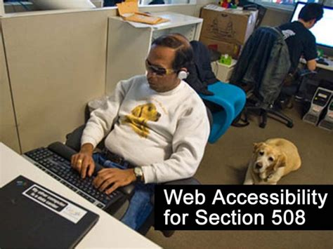 section 508 website web accessibility for section 508