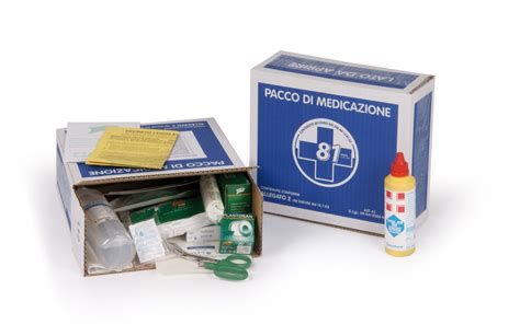 cassetta pronto soccorso 81 08 pacco reintegro dm388 15 07 03 allegato 2 base e d l 81