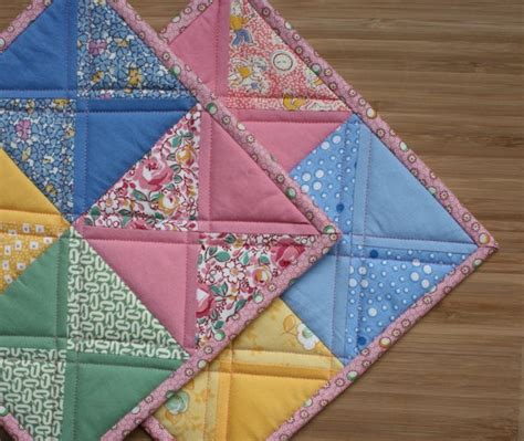 Patchwork Potholder Pattern - 25 best ideas about quilted potholders on