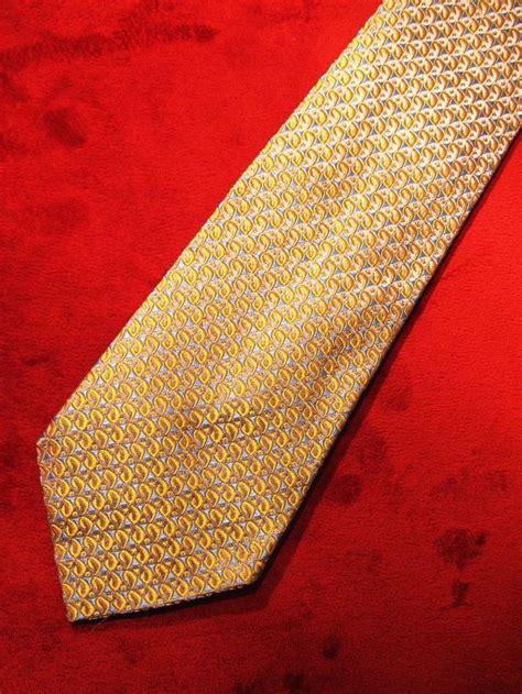 gold pattern ties 13 best vintage men s neck ties images on pinterest