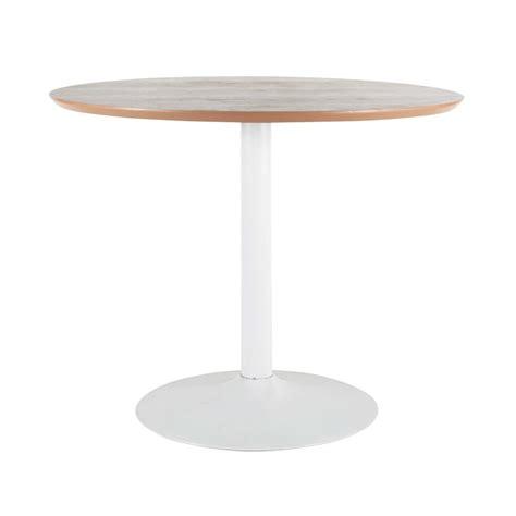table ronde de salle 224 manger en bois et m 233 tal circle