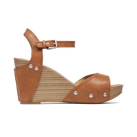 lucky brand wedge sandals lucky brand marshaa platform wedge sandals in brown
