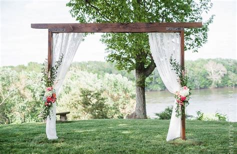 Wedding Arch Simple by Chuppahs And Arbors The Of The Wedding Arch East