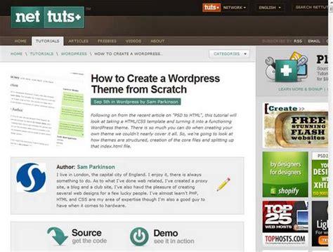 wordpress tutorial from scratch tutorial archives arwengrim