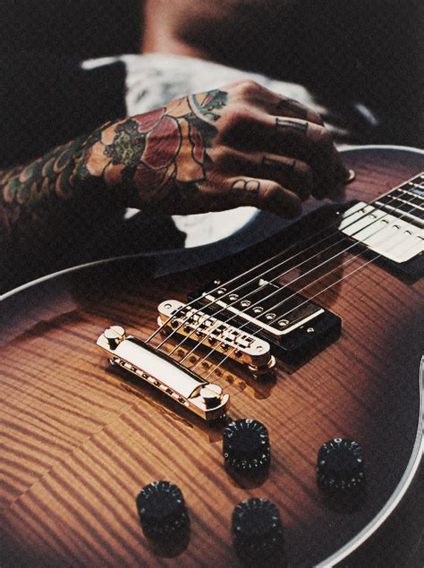 tattoo guitar hand drop our anchors in a storm via image 797706 by marco
