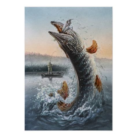 pike attack poster zazzle