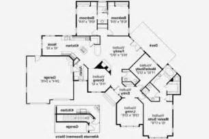 Small Ranch Style Floor Plans Ranch House Plan With 2 Master Suites Lifestyle Home