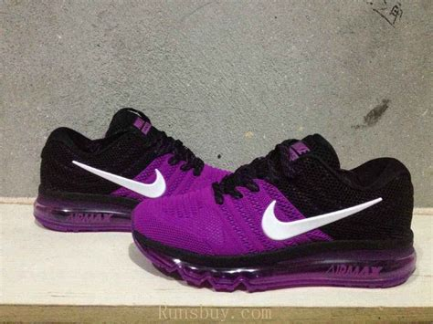 new coming nike air max 2017 kpu purple black shoes
