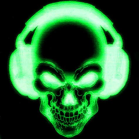 wallpaper green skull awesome skull wallpaper wallpapersafari