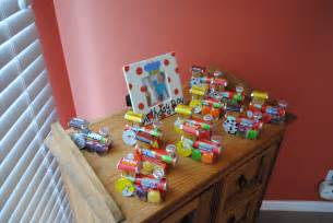 Thomas The Train Decorations Candy Train Party Favors Corbitt Pinterest
