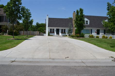 Garage Gate Designs double driveway opp concrete wichita commercial and