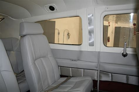 Cessna 210 Interior by Cessna 210 Aircraft Interior Redesign On Behance
