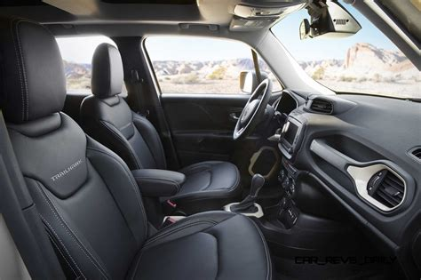 jeep renegade leather interior 2015 jeep moab concepts