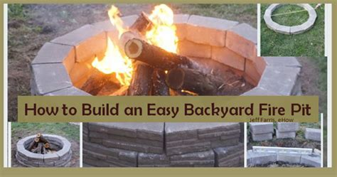 how to build a backyard fire pit with rocks 13 clever secret hiding places diy household hacks on how