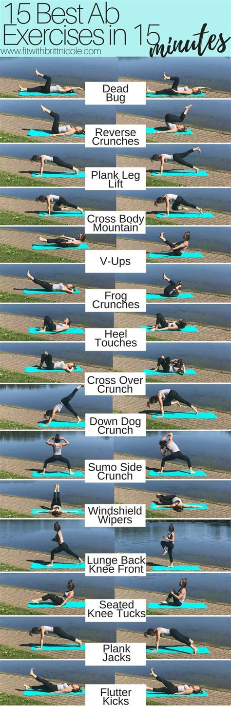 Best Mid Section Ab Exercises by 15 Best Ab Exercises In 15 Minutes Remedys For