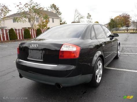 2003 audi a4 1 8t quattro brilliant black 2003 audi a4 1 8t quattro sedan exterior