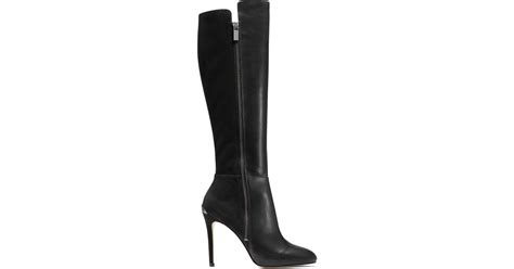 michael kors high heel boots michael michael kors clara high heel boots in black