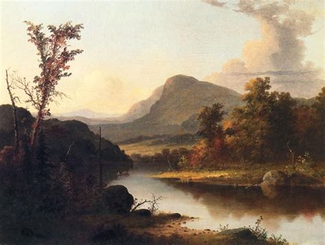 Landscape Artist George Crossword Autumn Landscape By George Henry Durrie