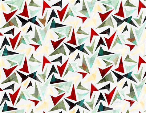 pattern geometric shapes colorful geometric shapes pattern digital art by phil perkins