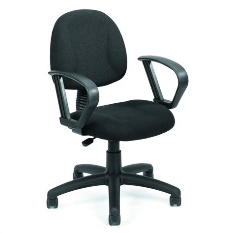 deluxe posture chair with loop arms b317