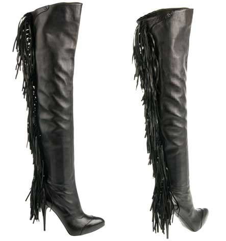 moccasin thigh high boots