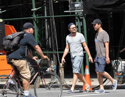 Lepaparazzi News Update Brad Pitts Easter Wedding Lepaparazzi by Leonardo Dicaprio In New York With Members Of The Wolf