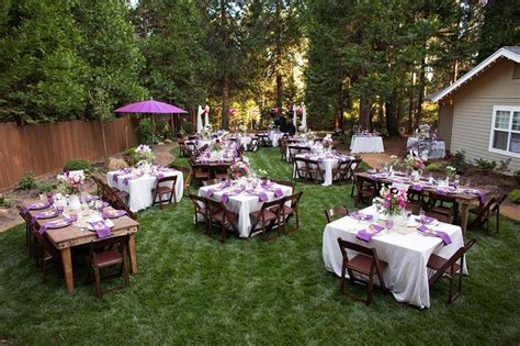 best 25 backyard wedding receptions ideas on